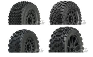 Pro-Line Pre-Mounted BFGoodrich KR2, Badlands MX & Gladiator SC Tires