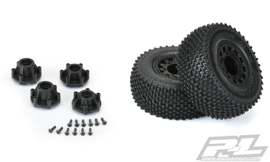 Pro-Line Pre-Mounted BFGoodrich KR2, Badlands MX & Gladiator SC Tires