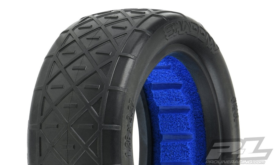 "Pro-Line Shadow 2.2"" Off-Road Buggy Front & Rear Tires"