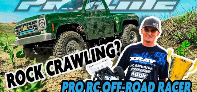 Pro Off-Road RC Racer Ty Tessmann Goes Rock Crawling [VIDEO]