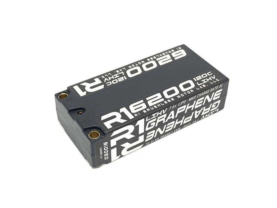 R1 Wurks 6200 mAh 120C 7.6 Shorty Pack