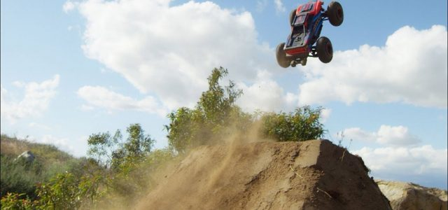 RC / MTB Downhill Run With The Traxxas Maxx [VIDEO]