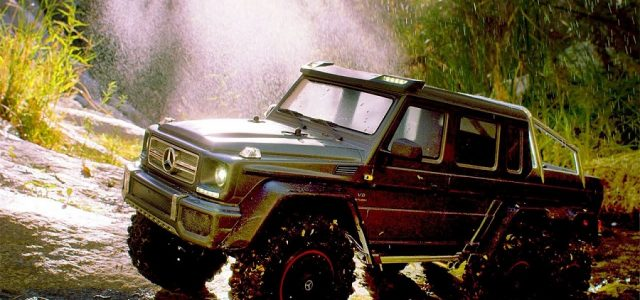 Six-Wheel Drive Summer Fun With The Traxxas Mercedes-AMG G 63 6×6 [VIDEO]