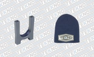 Tekno Aluminum Center Diff Support And Beanie Hat