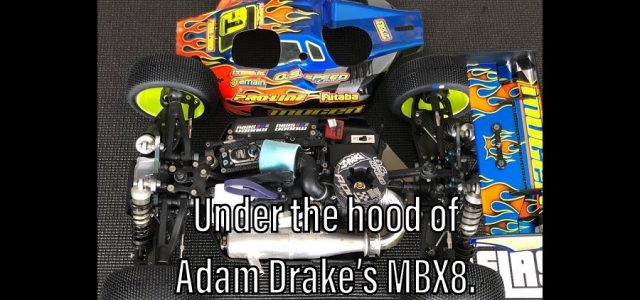 Under The Hood Of Adam Drake's Mugen MBX8 Nitro Buggy [VIDEO]