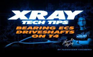 XRAY Tech Tip: Bearing ECS Driveshafts On T4 [VIDEO]