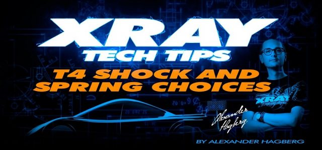 XRAY Tech Tips: Shock & Spring Choices For The XRAY T4 [VIDEO]