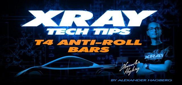 XRAY Tech Tips – T4 Anti Roll Bars [VIDEO]