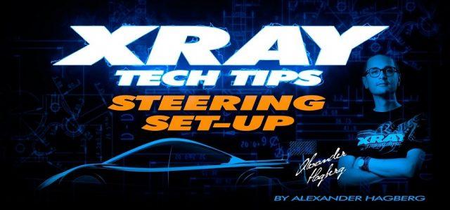 XRAY Tech Tips: T4 Steering Setup [VIDEO]