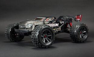 ARRMA 1/8 Kraton 4WD EXtreme Bash Roller Speed Monster Truck [VIDEO]