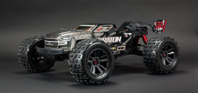 ARRMA 1/8 Kraton 4WD EXtreme Bash Roller Speed Monster Truck [VIDEO]