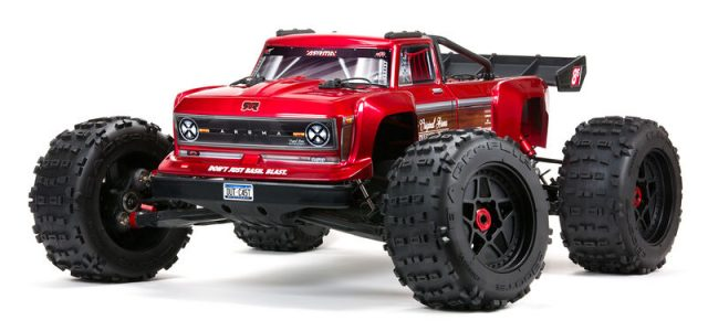 ARRMA OUTCAST 4X4 8S BLX 1/5 Stunt Truck [VIDEO]