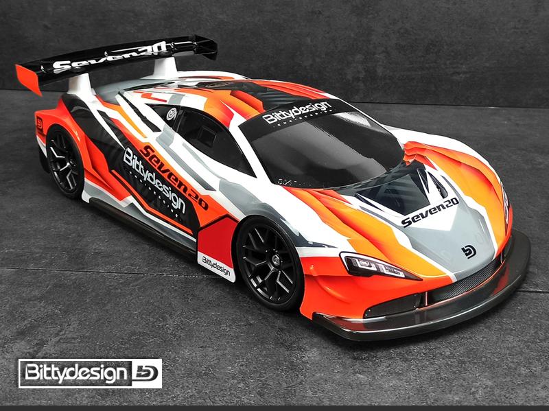 Bittydesign Seven20 110 GT Clear Body