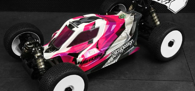 Bittydesign Vision Pre-Cut Clear Body For The XRAY XB8E 2020