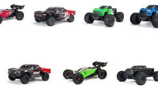 ARRMA V3 MEGA 550 & 3S BLX 2020 Models