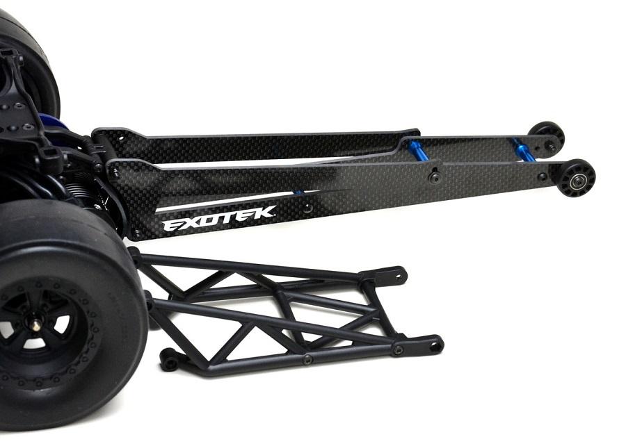 Exotek DR10 Carbon Fiber Wheelie Bar