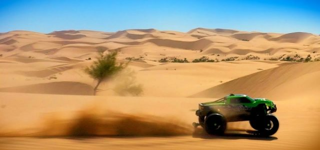 Glamis Dune Domination With The Traxxas X-Maxx [VIDEO]