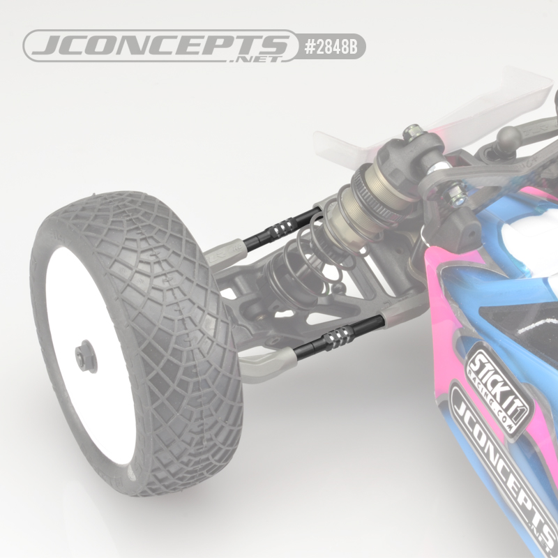JConcepts Black 3.5mm Fin Turnbuckle Kit For The TLR 22 5.0