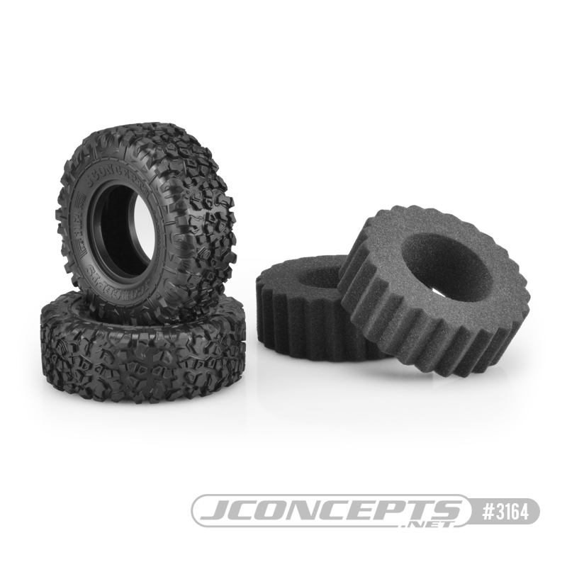 """JConcpets Landmines 4.19"""" O.D. Scale Country Tires"""
