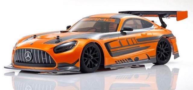 Kyosho FW06 Mercedes AMG GT3 [VIDEO]