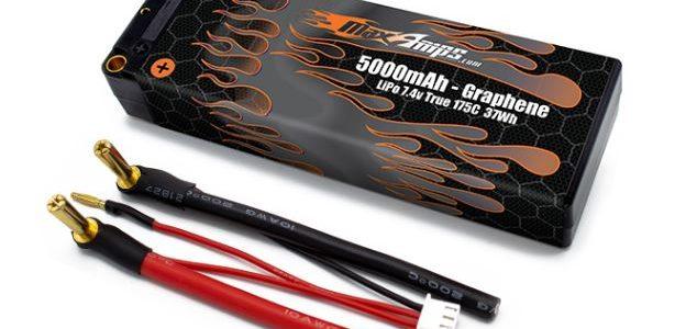 MaxAmps Graphene LiPo 2S 5000 7.4v Hard Case Battery Pack