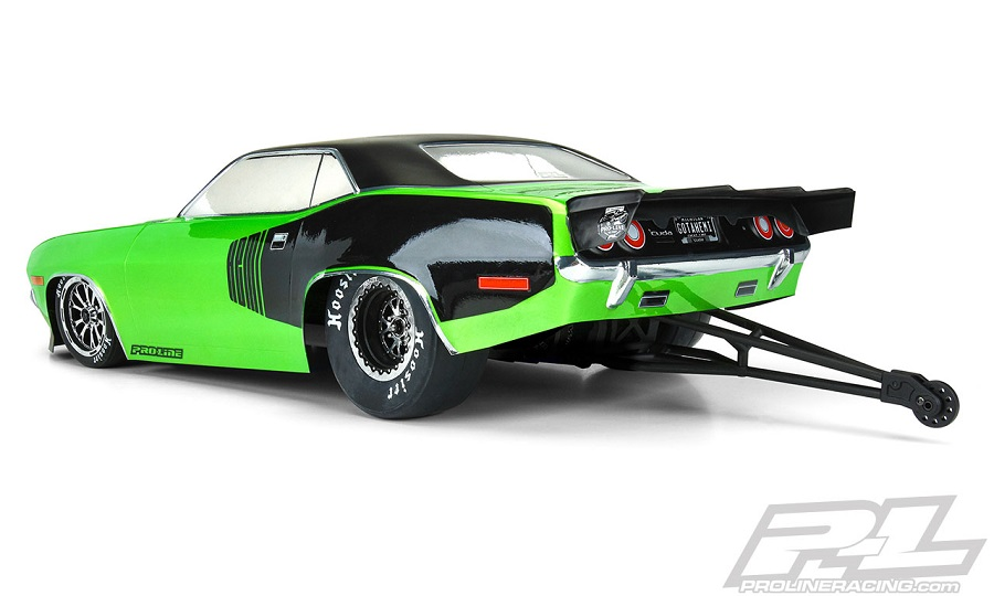 Pro-Line 1972 Plymouth Barracuda Clear Body