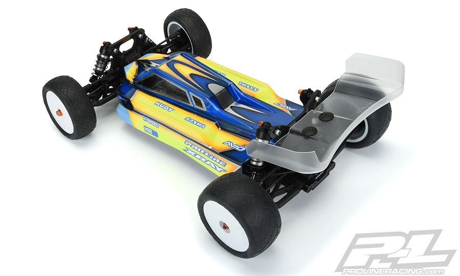 Pro-Line Axis Light Weight Clear Body For The XRAY XB4