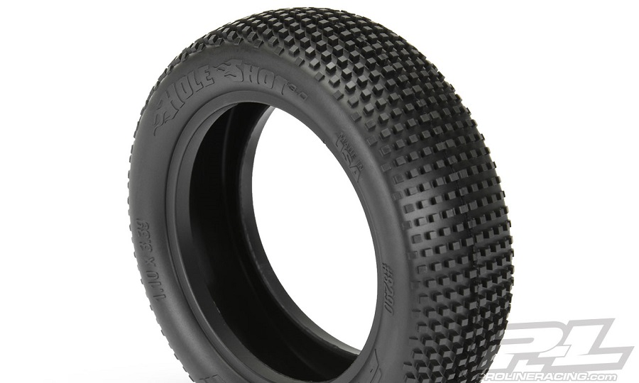 "Pro-Line Hole Shot 3.0 2.2"" 2WD & 4WD Off-Road Buggy Front Tires"