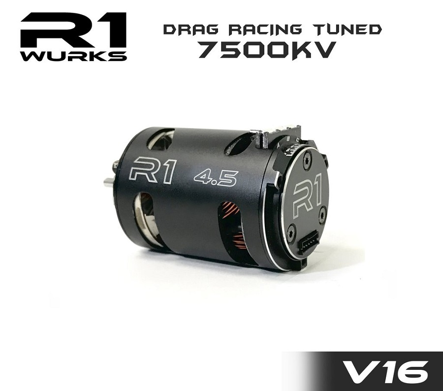 R1 Wurks V16 Drag Racing Tuned Brushless Motors