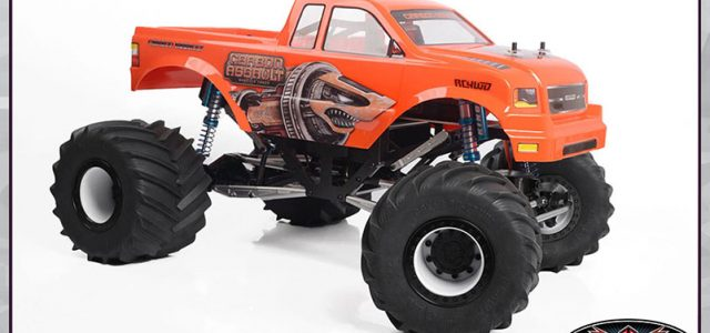 RC4WD Carbon Assault 1/10 Monster Truck [VIDEO]