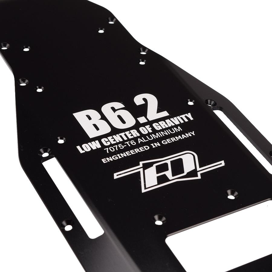 RDRP B6.2 +3mm LCG 7075 Aluminium Chassis