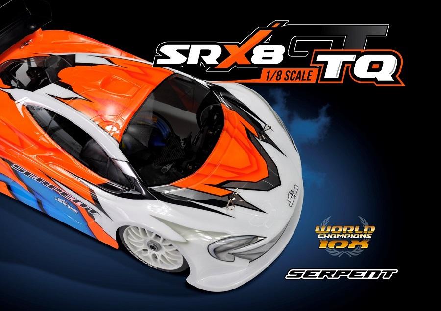 Serpent SRX8GT TQ 1/8 Nitro On-Road Car