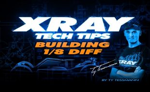 XRAY Tech Tips – Building 1/8 Diffs [VIDEO]
