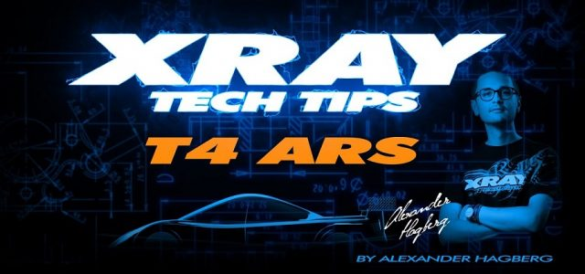 XRAY Tech Tips On The T4 2020 ARS [VIDEO]