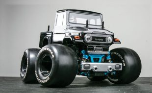 Land Burner: This Tamiya Toyota Land Cruiser FJ40 Is Ready To Roll