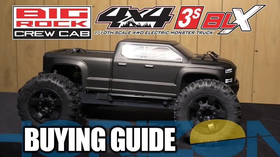Buying Guide ARRMA 110 BIG ROCK 4X4 V3 3S BLX Brushless RTR Monster Truck