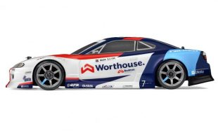 HPI RS4 Sport 3 Drift Team Worthouse Nissan S15