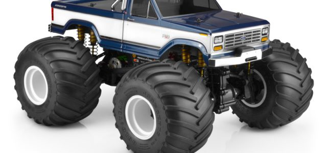 JConcepts 1984 Ford F-250 Monster Truck Clear Body