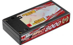 Muchmore IMPACT Silicon Graphene FD4 8000mAh/3.7V 130C Hard Case LiPo Battery