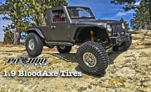 Pit Bull RC 1.9 BloodAxe Tires [VIDEO]