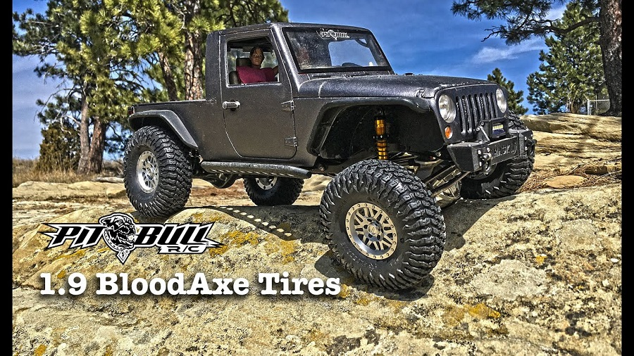 Pit Bull RC 1.9 BloodAxe Tires