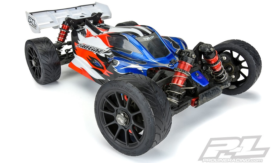 Pro-Line Avenger HP S3 (Soft) Street Belted 1:8 Buggy Tires Mounted