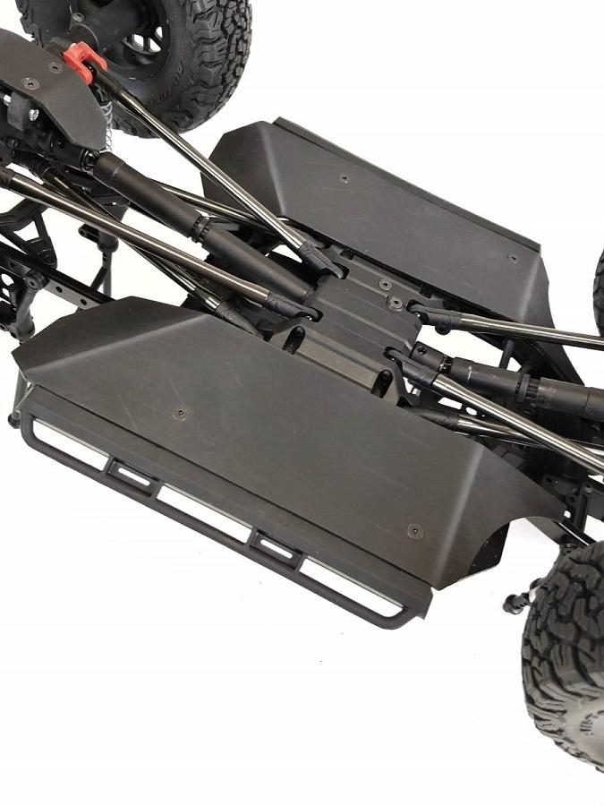 TBR Side Rail Rock Sliders For The Axial SCX10 II
