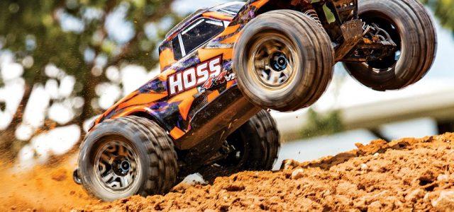 Traxxas Hoss 4X4 VXL Monster Truck [VIDEO]