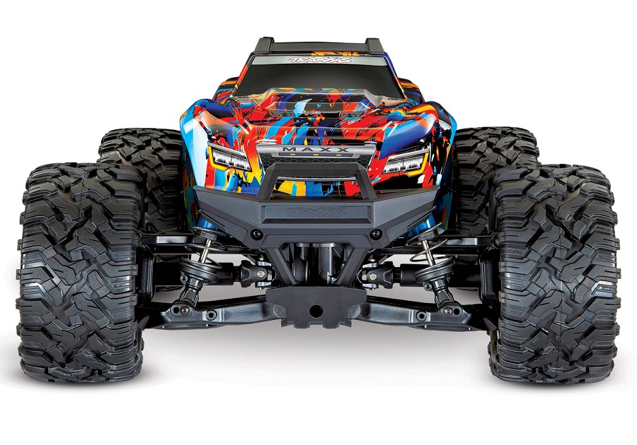 Traxxas Maxx Now With Rock 'N Roll Paint Scheme