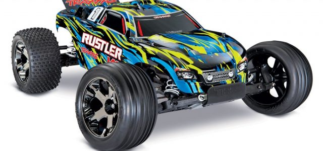 Two New Colors For The Traxxas Rustler VXL