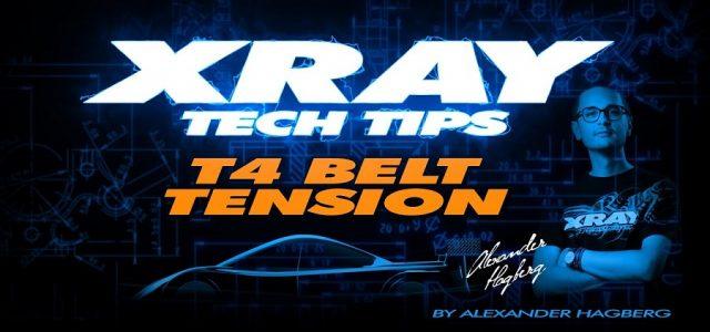 XRAY Tech Tips: T4 Belt Tension [VIDEO]