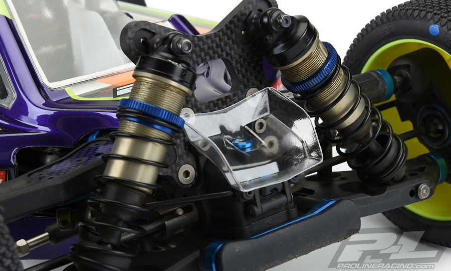 Axis Clear Body For The TLR 8ight-X, RC8B3.2 & AE RC8B3.2e, Mugen MBX8 & MBX8 Eco