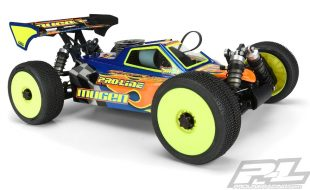 Pro-Line Axis Clear Body For The TLR 8ight-X, RC8B3.2 & AE RC8B3.2e, Mugen MBX8 & MBX8 Eco