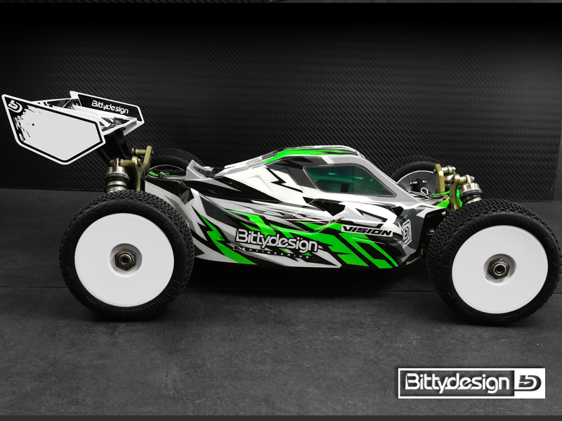 Bittydesign Vision Pre-Cut Clear Body For The Kyosho MP10E